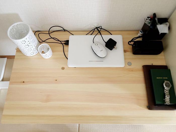 無印良品 ローテーブルを使った雰囲気