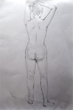 裸婦2017-1