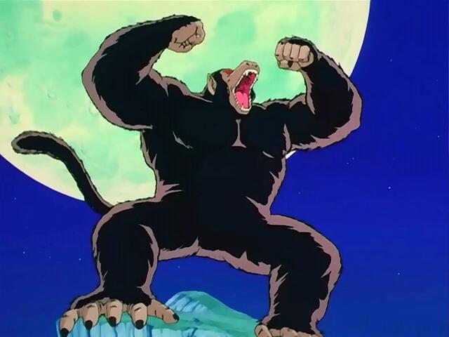 ドラゴンボール 大猿 暴れる