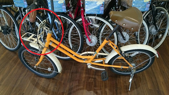 201706自転車修理