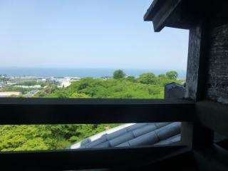 52彦根城眺望