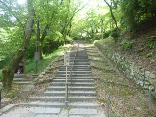 523P1010671三井寺階段階段