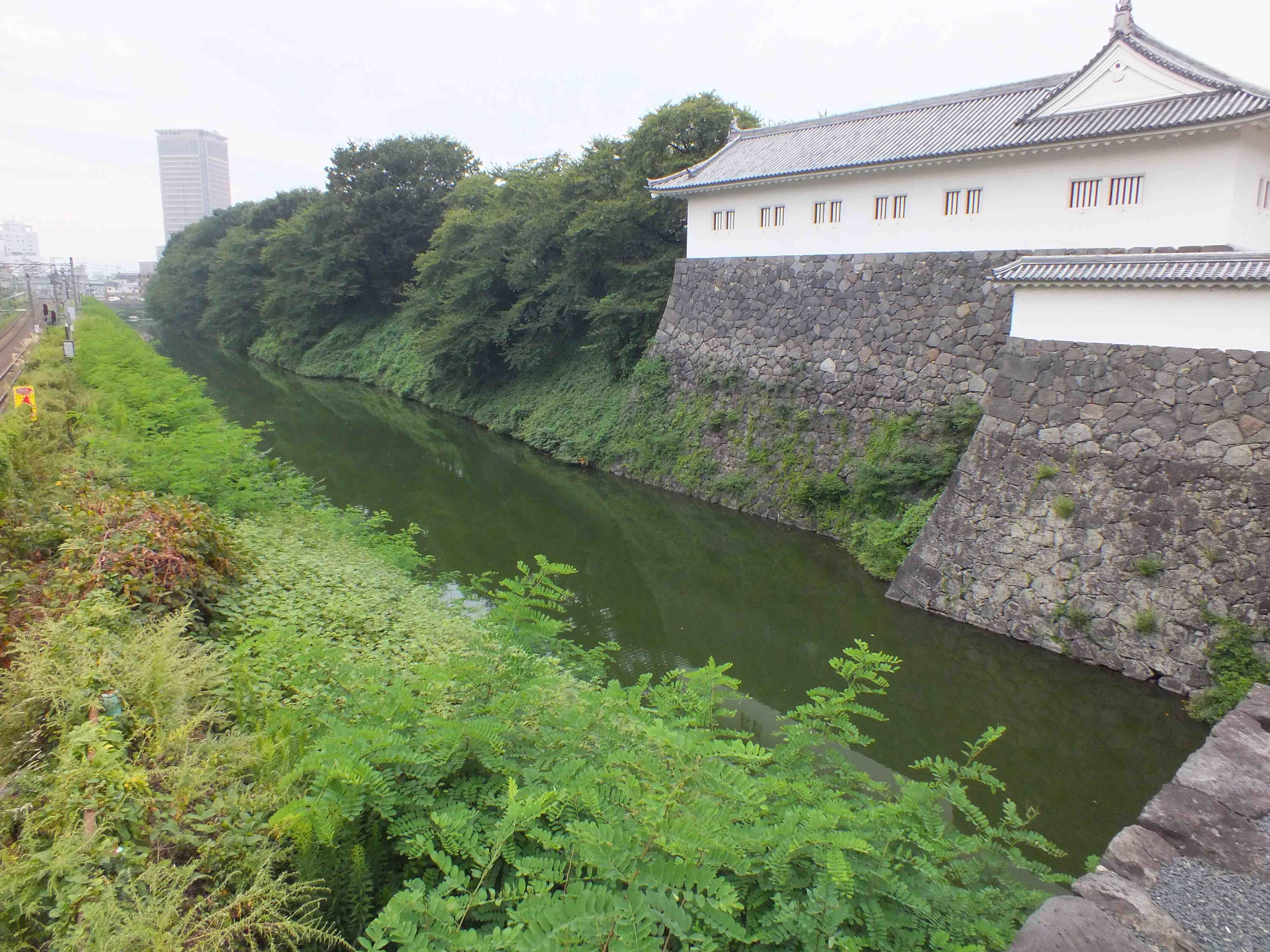 山形城 堀