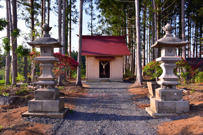 天王館 白旗神社