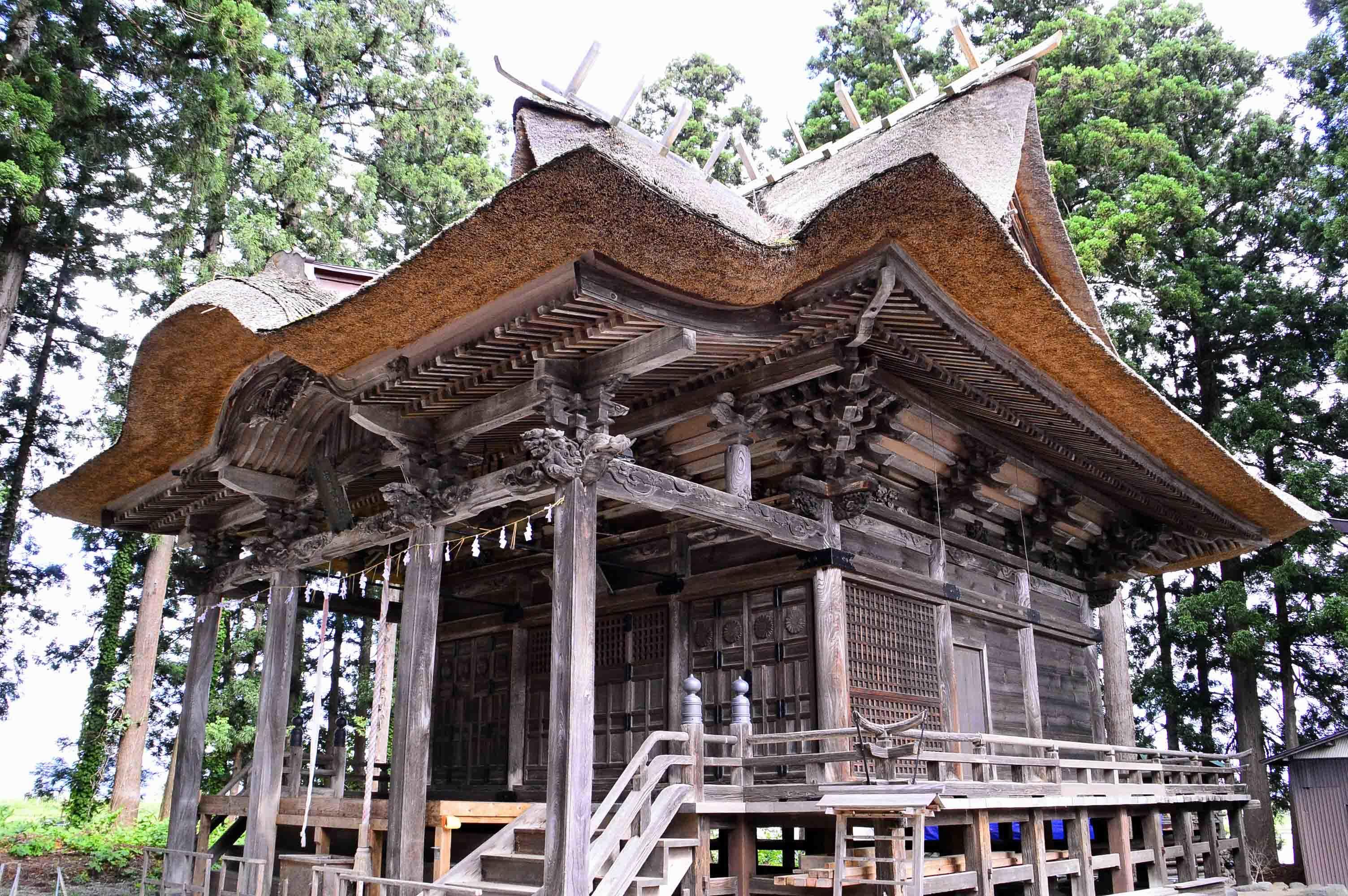 羽黒神社 社殿