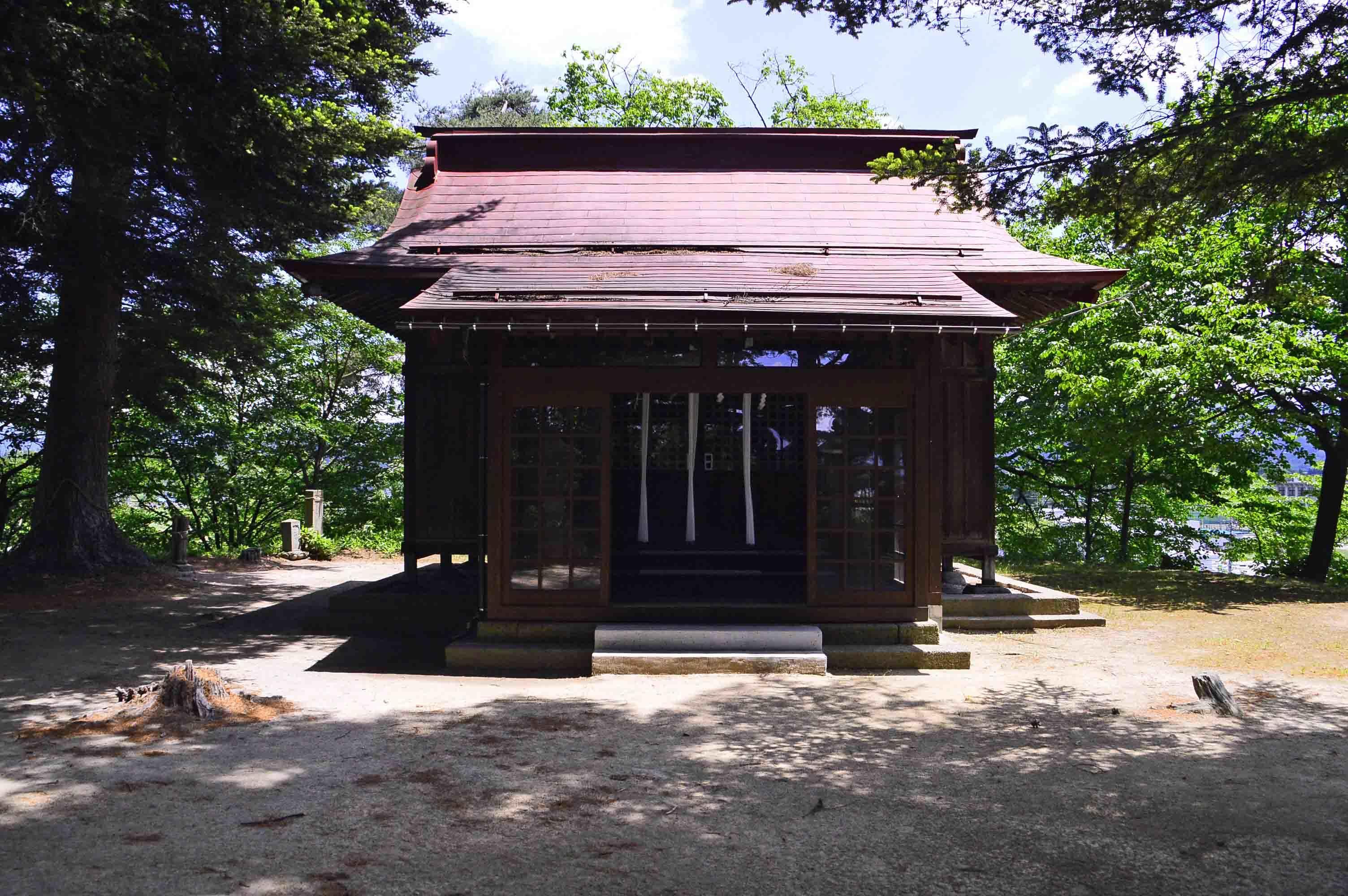 羽黒神社館 羽黒神社社殿