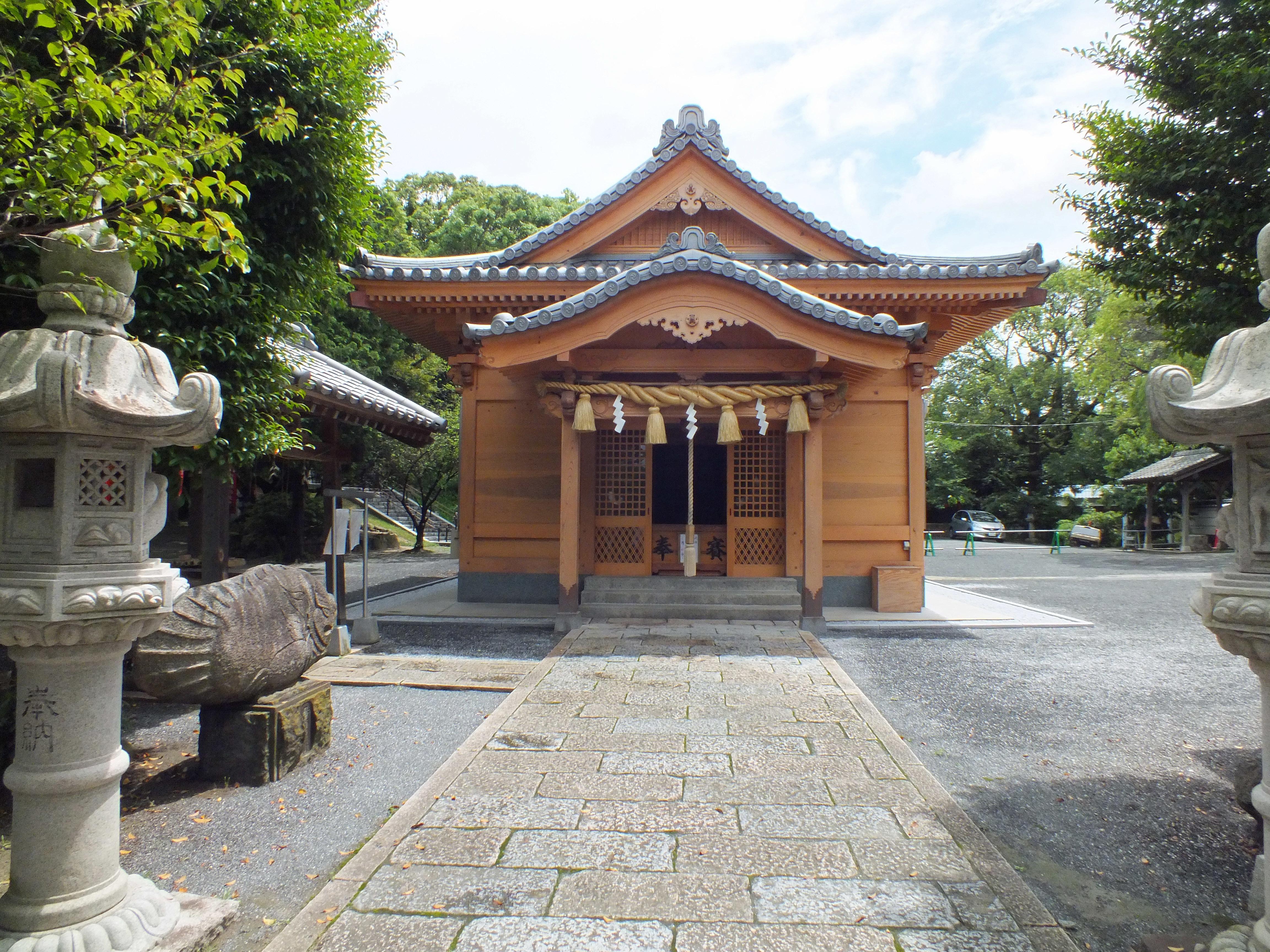 名島城 名島神社