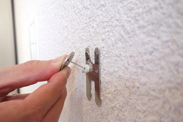 無印・壁に付けられる家具&石膏くぎ③