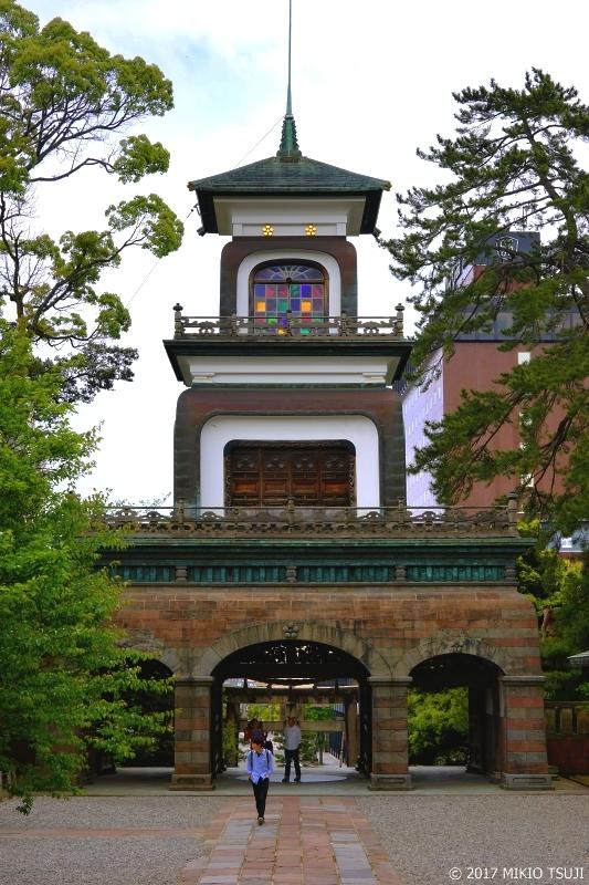 絶景探しの旅 - 0213 金沢・尾山神社 ステンドグラスの神門 (石川県 金沢市)