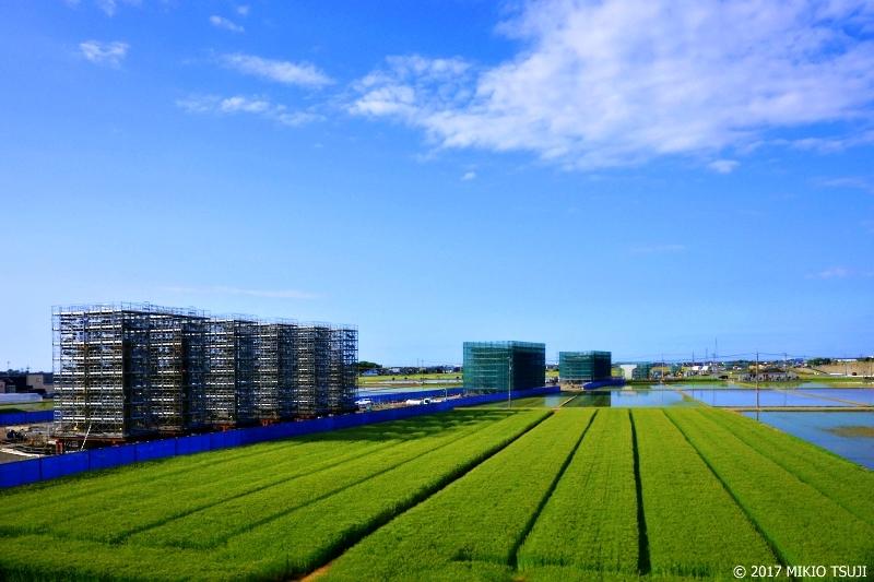 絶景探しの旅 - 0214 巨大キューブ群のある田園風景 (石川県 白山市)