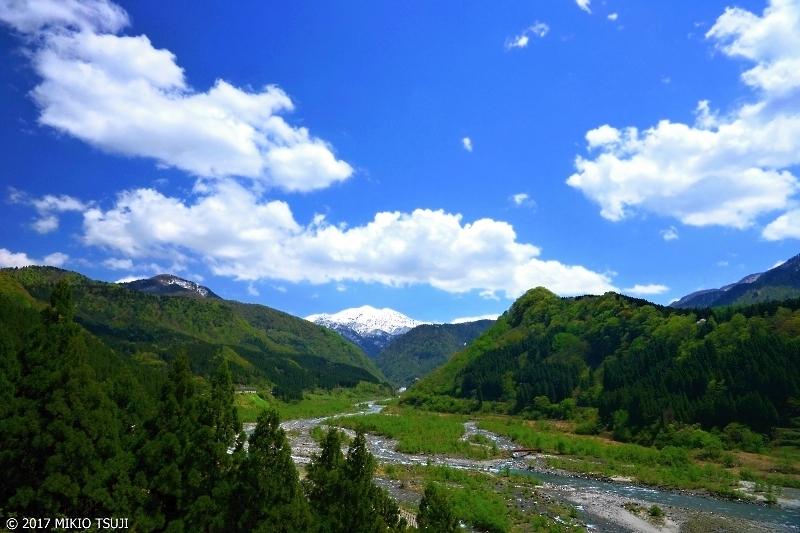 絶景探しの旅 - 0228 立山連峰と常願寺川 (立山大橋/富山県 立山町)