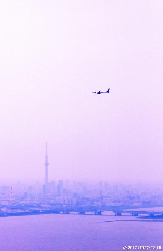 絶景探しの旅 - 0263 霧の東京上空を飛ぶ (東京湾上空/東京都)