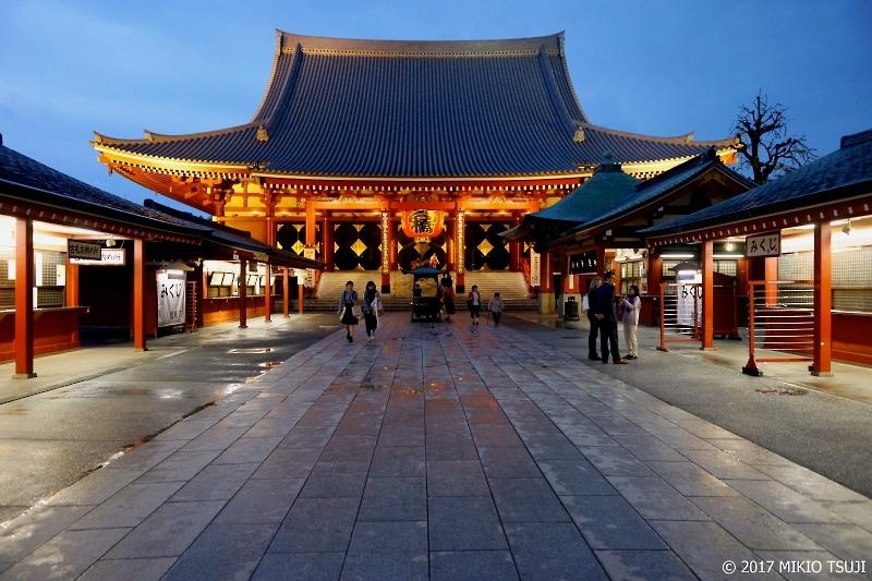 絶景探しの旅 - 0268 雨上がりの浅草寺 (東京都 台東区)